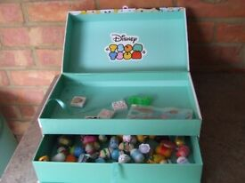 Disney Tsum Tsum ( 49 ) Figures WITH DISNEY BOX WHAT YOU SEE IS ALL INCLUDED