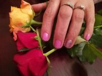 Gel nail polish only 10 pounds. Manicure only 5 pounds.
