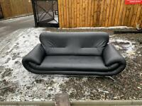 Leather couch 210x90