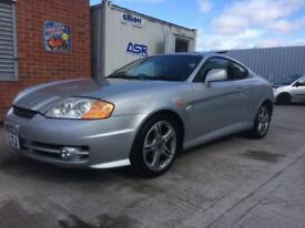 Hyundai Coupe 2.7 V6 AUTOMATIC - MOT Feb 2019 - Only 81,000 Miles - Leather - Alloys - PX TO CLEAR