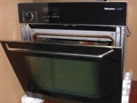Miele H268B built-in electric oven. Used. Full working order. Catalytic cleaning system.