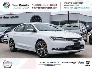 2015 Chrysler 200 S|8.H TOUCH SCREEN| REMOTE START