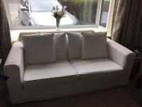 John Lewis - off White Sofabed