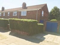Large 3 bed semi to rent in Berwick Hills, Middlesbrough. Large private gardens to front and rear.