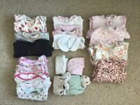 3-6 month girls basics bundle