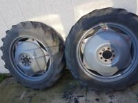 Ferguson tractor wheels with tyres (currently sstc)