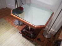 Art Deco mirror Topped table