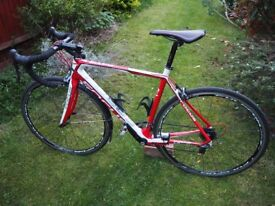 Focus Cayo bicycle Shimano Ultegra Carbon Fibre frame. Great condition recently serviced. 54cm size.