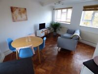 Modern two bedroom apartment located two minutes from South Woodford station.