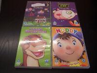 4 Childrens DVDs Noddy, Land Before Time, Frankensteins Cat, Ben & Hollys Little Kingdom