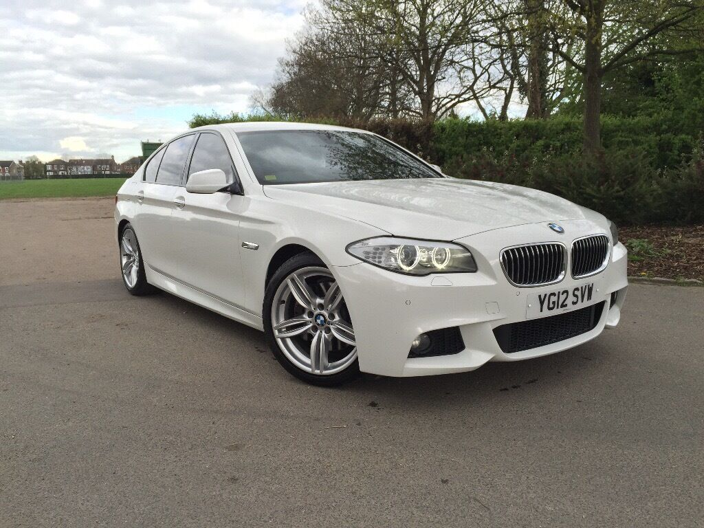 cheapest bmw 530d m sport white 2012 in the country fsh. Black Bedroom Furniture Sets. Home Design Ideas
