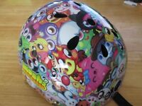 Moshi Monsters Kids Cycling Helmet **ONLY WORN ONCE** Size: Medium