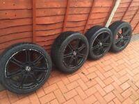 "Honda Civic Type R allow wheels 17"""