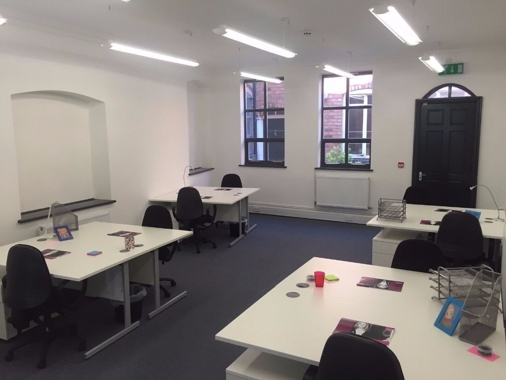 Office Space In Walsall | WS1 | From £22 p/w - includes rates - fully furnished