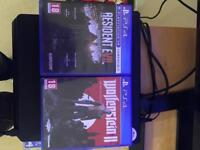 Wolfenstein II + Resident Evil 7