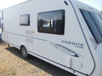 *** 2009 6 BERTH COMPASS CORONA CLUB 556 TOURING CARAVAN ***