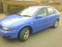 2001 seat leon 1.6 16v
