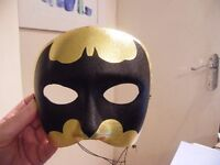 Adult Bat Mask Lovely Condition,New Never Used