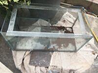 Glass fish tanks glass tanks X 4