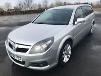 58 REG VAUXHALL VECTRA SRI ESTATE IMMACULATE NOW ONLY £1999