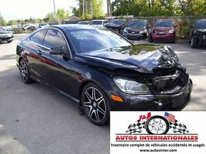 2013 Mercedes-Benz C-Class C350 4MATIC 4X4 MAG SROOF PANO SUEDE