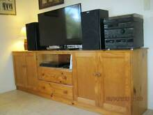 Quality custom television / media / storage unit Kallangur Pine Rivers Area Preview