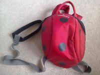 Littlelife ladybird reins/rucksack