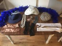 SELECTION OF VINTAGE HATS / ACCESSORIES