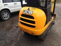mini digger excavator JCB 1.5 tonne 2013 new model not kubota or yanmar or takeuchi