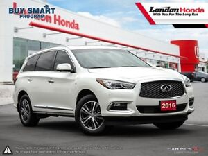 2016 Infiniti QX60 One Owner Vehicle, Clean CarProof Report,...