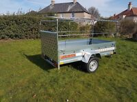 New Trailers 7.7 x 4.1 with ramp cover free