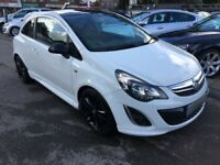 2013/62 VAUXHALL CORSA 1.2i 16v LIMITED EDITION 3DR (a/c) VERY LOW MILEAGE,GREAT SPEC,DRIVES WELL