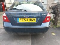 For Sale Ford mondeo nice drive but no mot.