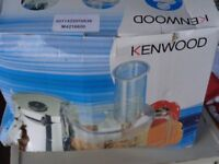Unused Kenwood food mixer