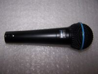 Shure Beta 58A - Professional Vocal Dynamic Microphone. ( Black Limited Edition ) USED !