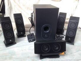 Logitech X540 PC Speaker System