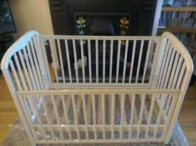 Cosatto Cot. Victorian Style Wooden Cot