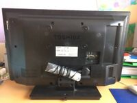 Toshiba Television 32W1333DB for SPARE OR REPAIR