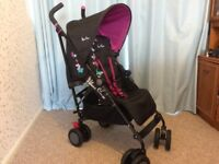 Silver Cross Pop Stroller (Butterflies)