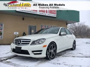 2012 Mercedes-Benz C-Class $175.80 BI WEEKLY! $ 0 DOWN! CERTIFIE