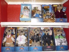 COMPARE THE MEERKAT TOYS BNIB AND COME WITH CERTIFICATES..ALSO LIMITED EDITION GARY BARLOW CD