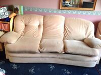 3 seater sofa and armchair FREE TO COLLECT