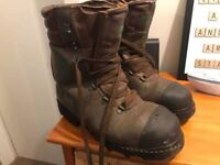 (SOLD) Stihl chainsaw boots 8 1/2