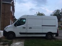 2015 Vauxhall Movano 65 plate white van. 2.3 CDTI. Very Good condition. One local owner from new