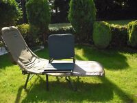 WANTED SWAP My Aquarius fishing Bed Chair for carp rod up to 2/1b test curve