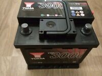 car battery yuasa , nearly new