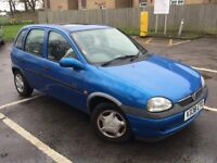 VAHXHALL CORSA 1.2CC 1 YEARS MOT DRIVES WELL WITH NO PROBLEMS