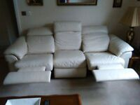 3 piece suite maorio recliner settee and chairs