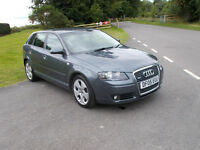 2005 05 AUDI A3 3.2 SPORTBACK QUATTRO 5 DOOR VERY CLEAN