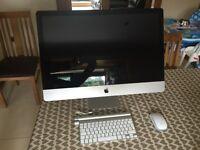 """Apple iMac 27"""" late 2010, 3,2 GHz Intel Core i3, ATI Radeon 5670, 240SSD + 1TB HD"""
